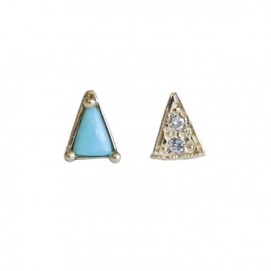 mismatched_triangle_studs