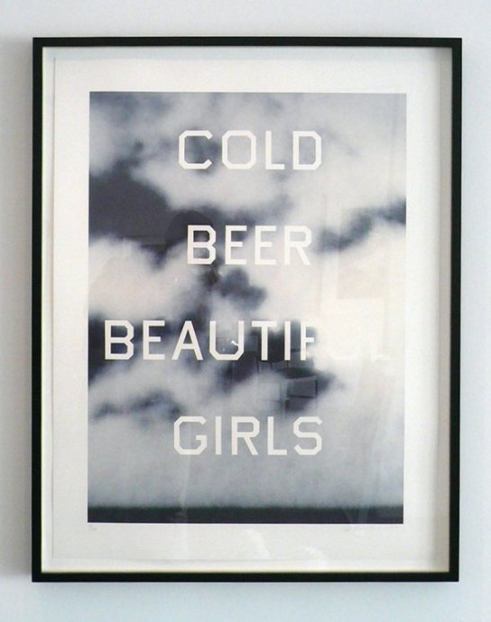 Ed_Ruscha_Cold_Beer_Beautiful_Girls_679